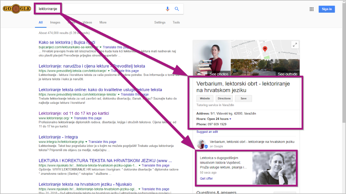 Kako privući nove klijente pomoću Google My Business? - Expertiva blog