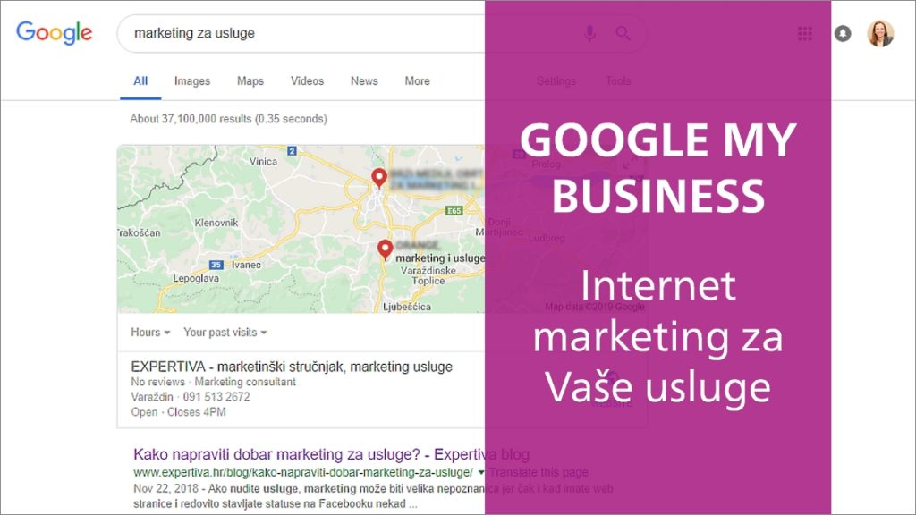 Google My Business usluge