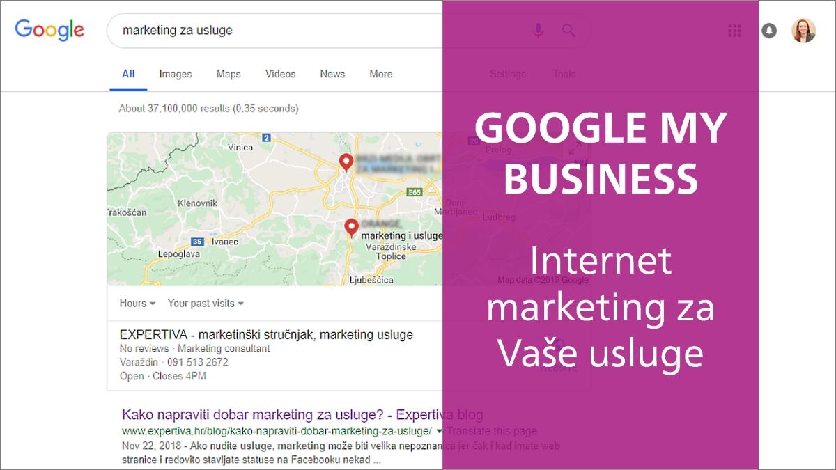 Google My Business usluge