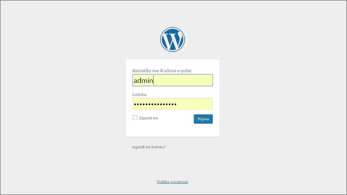 Kako dodati novu stranicu u WordPressu