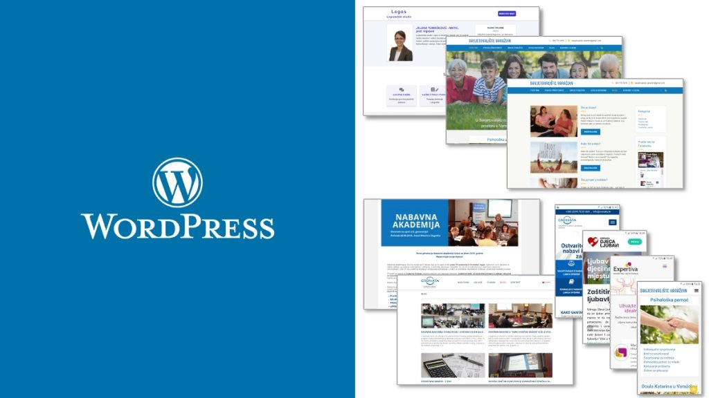WordPress pomoć